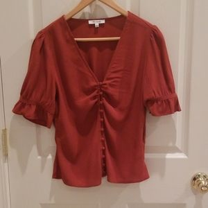 Madewell blouse new